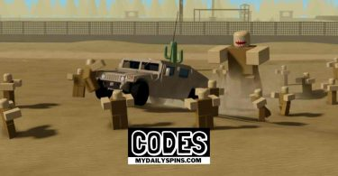 Roblox Military VS Zombies 2 codes
