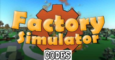 working Roblox Factory Simulator codes list