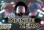 Roblox Ro Infinite Zero Codes list