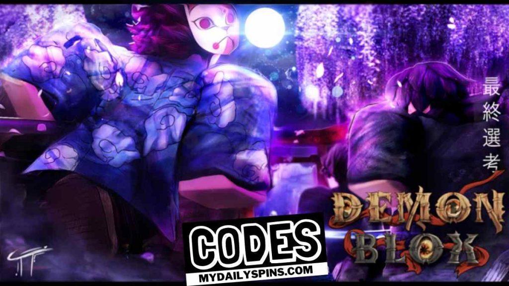 Roblox Demon Blox Codes
