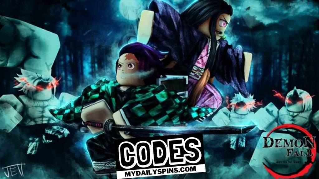 Roblox Demonfall codes