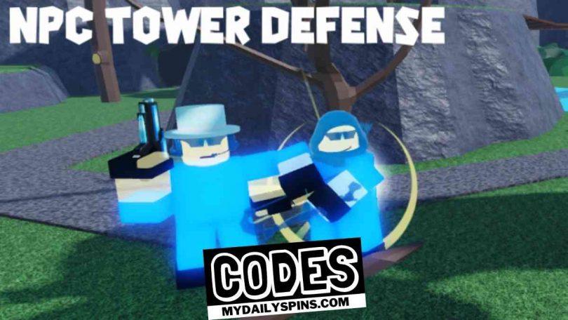 Roblox NPC Tower Defense Codes