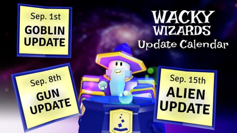 Wacky Wizards codes