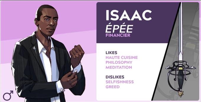 boyfriend dungeon characters Isaac